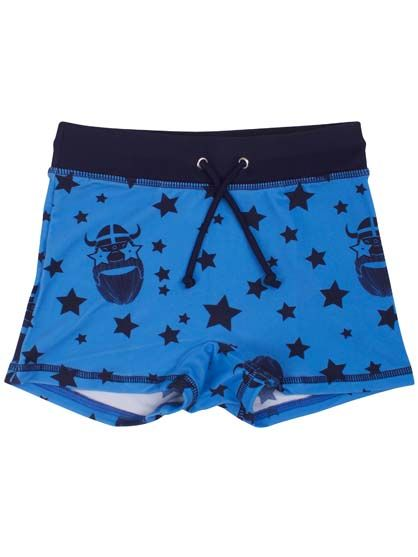 Pool Trunks Kingblue STARRYERIK