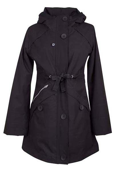 Image of   Lene Midseason Jacket Black (black liner)