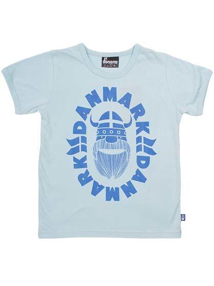 Image of   BASIC Shortsleeve Baby Blue DANMARK ERIK