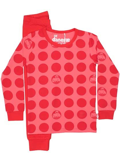 Lukoeje Set Tropical Pink/Red DOTS