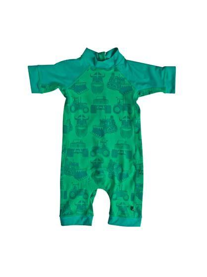 Tuberider Suit Green MACHINES