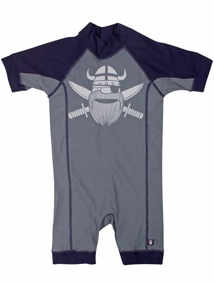 Tuberider Suit Dark grey/ navy PIRATE