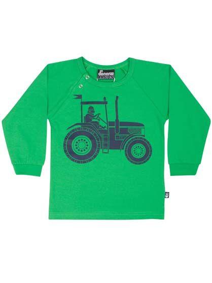 Image of   Baby basic tee Zest green TRAKHTOR