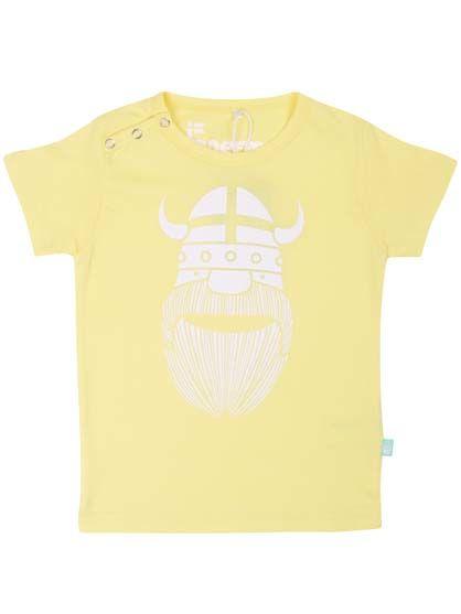 Baby basic tee Summer yellow ERIK