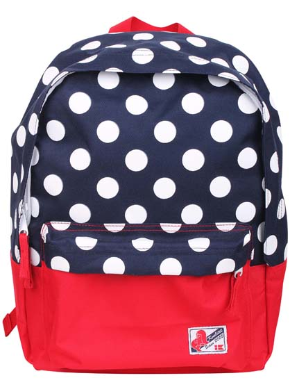 Kids Big Pack Navy/Red DOTS