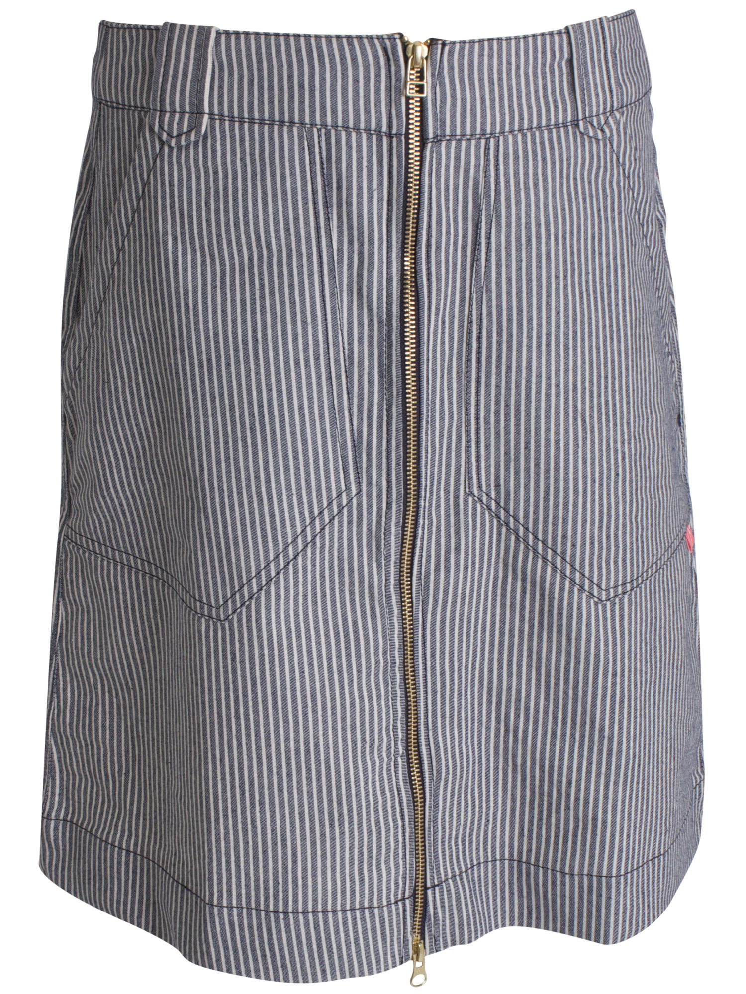 Image of   Golly Skirt Navy/White