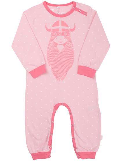 Image of   Sovetryne Suit Light Pink/off White/Mini Dot FREJA