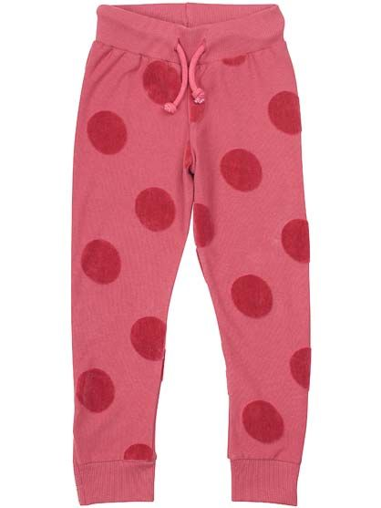 Galop Pants Rhubarbe DOTS