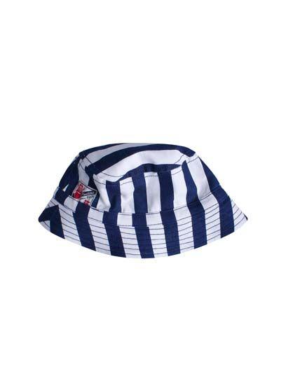 Creek hat Dk indigo/white
