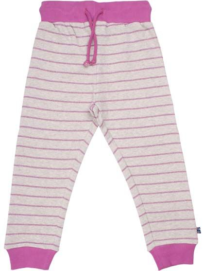 Silver Pants JR Htr grey/ Dusty lila lurex