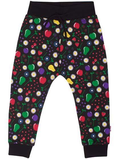Silver Pants JR Black Fruity