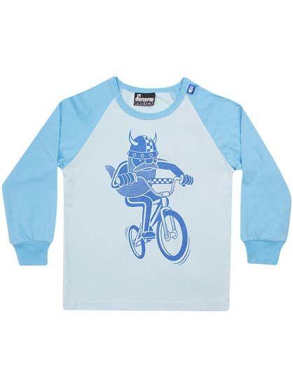 Image of   Basic Raglan Alpine Blue/ baby bl BMX ERIK