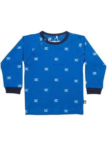 Image of   Anker Baby Tee Workblue FLAGS