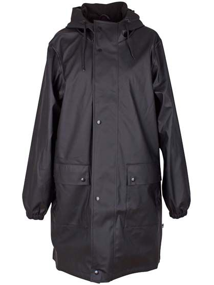 Korsbaek raincoat Black