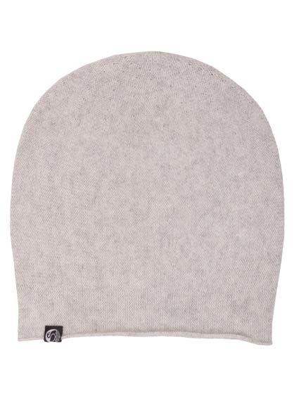 Cashmere Beanie Light grey