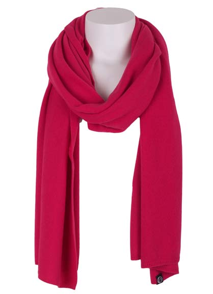 Image of   Cashmere Scarf Tropical Pink