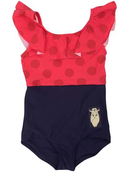Mamasita suit Red currant/ ox red/ navy
