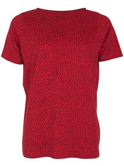Marina 3/4 Sleeve Dk Night/Red