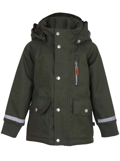 Johan Hunt Winter Jacket Dark Khaki