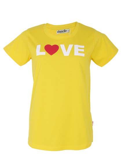 Favorito Tee Retro Yellow LOVE