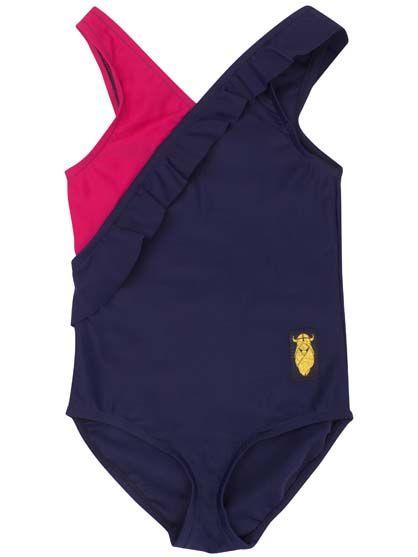 Obro Suit Navy/Magenta