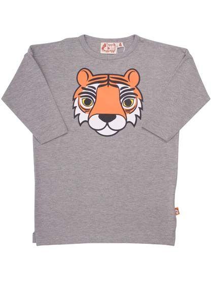Image of   Beast Tunic Htr Grey TIGER
