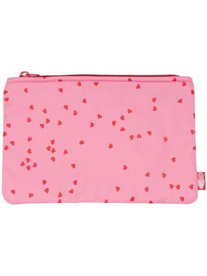 Pouch Super Pink CONFETTI HEARTS