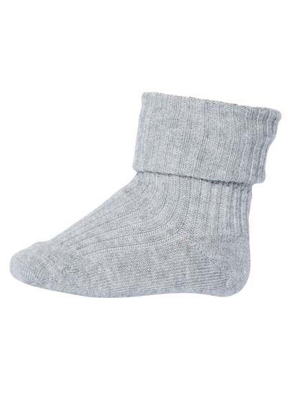Image of   Ankelstrømper Baby Grey 491