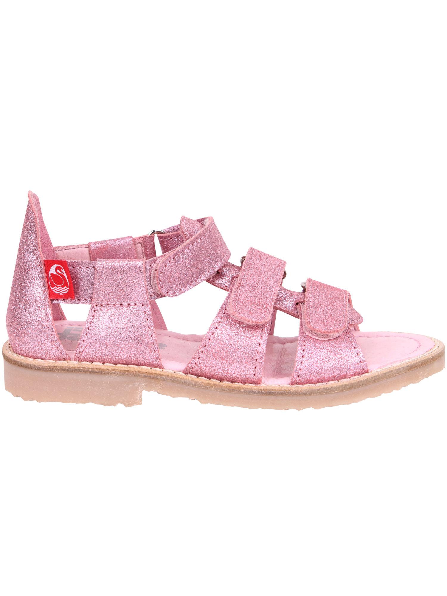 Low sandal (28-37) Pink GLITTER