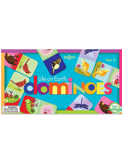 Image of   Room2Play Domino, Life on Earth