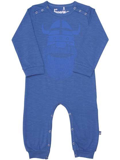 Image of   ORGANIC - Anis suit Enamel blue ERIK