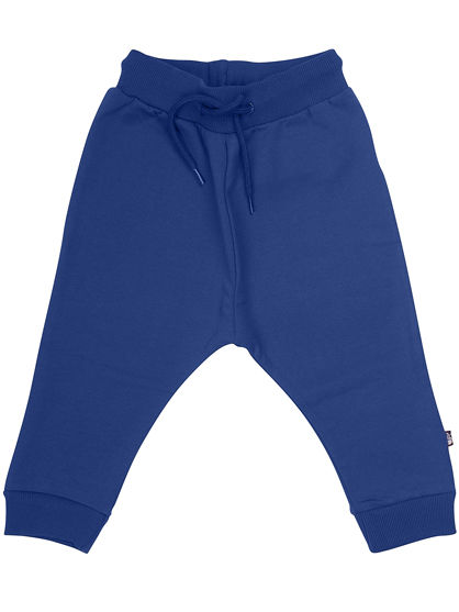 ORGANIC - Boeg pants Dark indigo