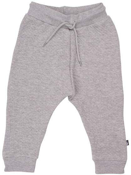 ORGANIC - Boeg pants Heather Grey (QUILT)