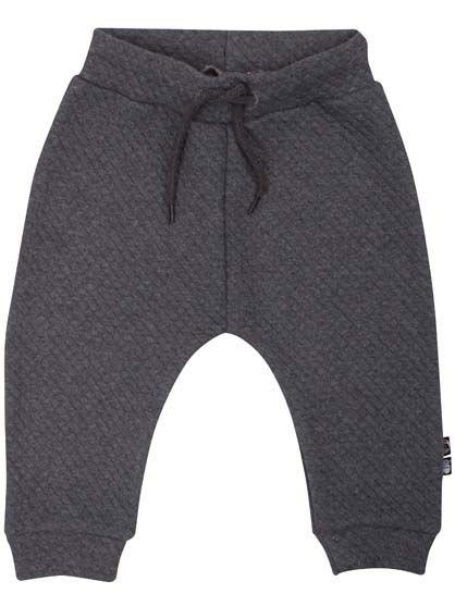 Image of   ORGANIC - Boeg pants Dark htr grey