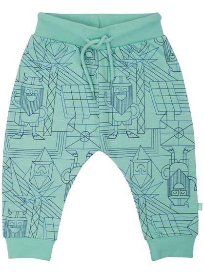 Image of   ORGANIC - Boeg pants Dusty sage ENERGY