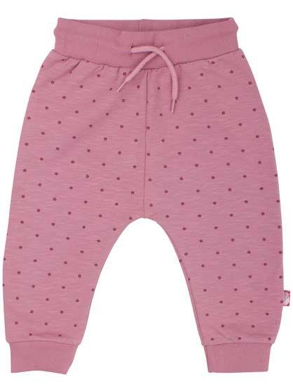 Image of   ORGANIC - Boeg pants Dawn Rose/Hortensia