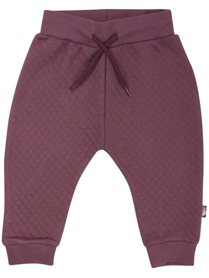 Image of   ORGANIC - Boeg pants Grey Plum