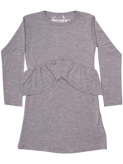 ORGANIC - Mynte Dress Htr Grey