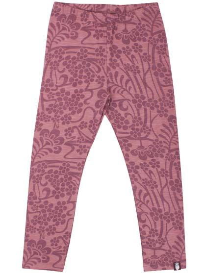 ORGANIC - Kanel leggings Gr Plum/Dawn Rose/Nouveau