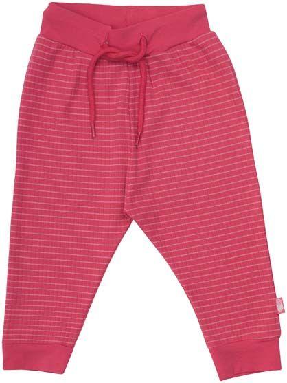 ORGANIC - Thyme pants Old rose/Blush rose