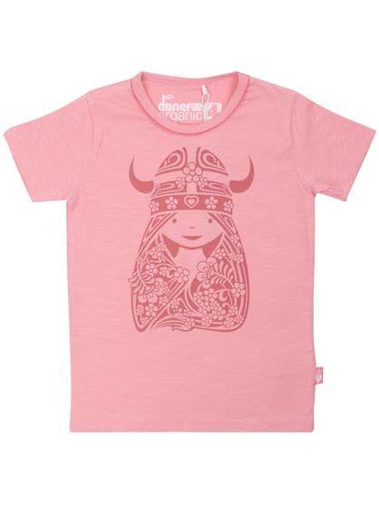Image of   ORGANIC - Beetroot tee Kind pink NOUVEAUFREJA