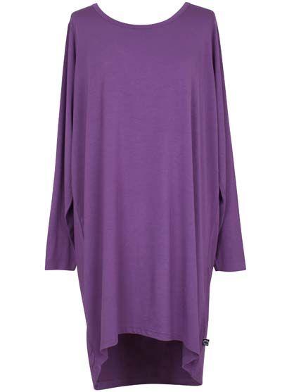 Image of   ORGANIC - Fiore tunic Dry lavender