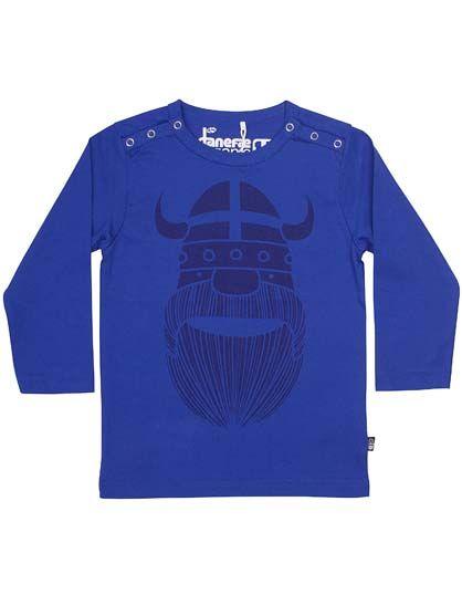 Image of   ORGANIC - Lawn baby LS Polite blue ERIK