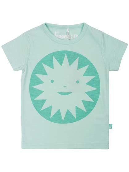 Image of   ORGANIC - Merian baby tee Light mint SUNSMILE