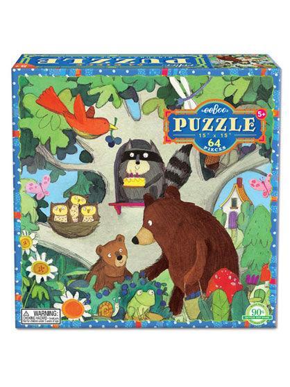 Image of   Room2Play 64 piece puzzle, Birthday Tree