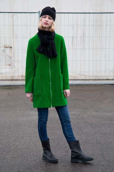 Image of   Wool darling Green