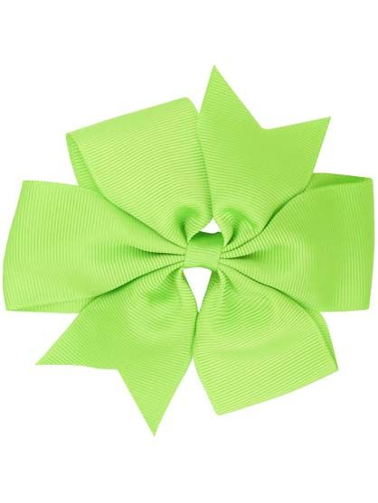 Image of   Hair Bow BIG Sprout grn