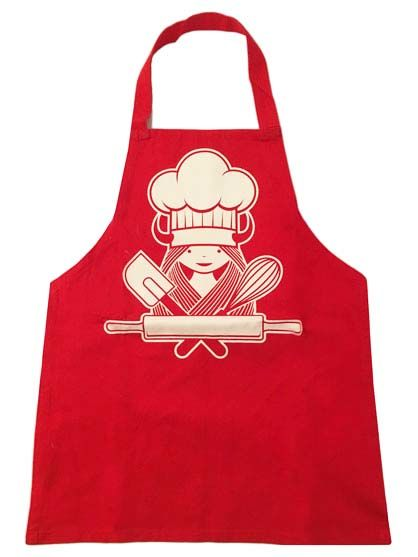 Cookn Apron Red BAKERFREJA