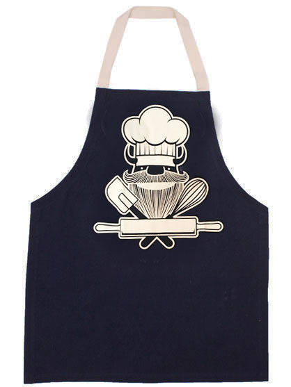 Cookn Apron Navy BAKERIK