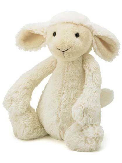 Image of   Jellycat Bashful Lamb Small